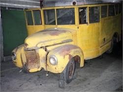Antique Bus Restoration