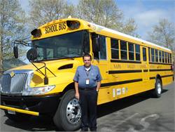 Napa (Calif.) Valley USD Transportation Director Ralph Knight plans to power the district's hybrid buses using solar energy.