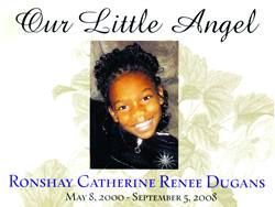 Ronshay Dugans was killed when her school bus was crushed by a cement truck. The truck driver was reportedly drowsy when he got behind the wheel.
