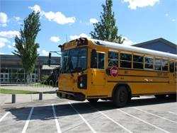 Chris Ellison, transportation manager, Eugene School District 4J, was able to accomplish his goal of getting to know all of the approximately 130 employees when he first started at Eugene by walking around the facility, sitting in the driver's room and riding bus routes.