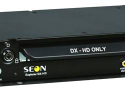 Paired with Seon Design's CHW HD bus camera, the DX-HD can be used for school bus surveillance applications where image clarity is essential, such as in accident reconstruction or license plate capture.