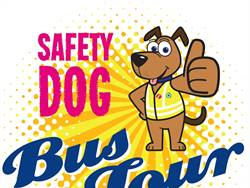 First Student and the National Safety Council's Safety Dog Bus Tour teaches children safety tips and shows parents safety features on the bus. Children also get to meet Safety Dog, the safety mascot for First Student.