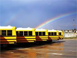 Several school bus-related projects are among those awarded DERA grants to retrofit and replace old diesel vehicles and equipment. Photo by John Horton
