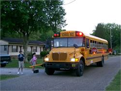 Legislators have recently proposed bills that would require school buses to pick up and drop off students on the side of the road that they live on.