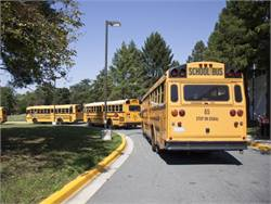 EPA and NHTSA's proposal would increase fuel efficiency and decrease carbon pollution for medium- and heavy-duty vehicles, including school buses. Photo courtesy NHTSA