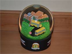 This school bus snow globe has now attended two NAPT Summits. Will it go for a third next year?