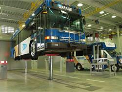 Stertil-Koni has addressed increasing safety concerns that have spurred new engineering approaches at vehicle maintenance facilities with its Diamond Lift, a heavy duty in-ground telescopic piston lift.