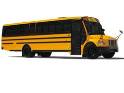 SmartTrac electronic stability control is a new option for Thomas Built's Saf-T-Liner C2 school buses (pictured).