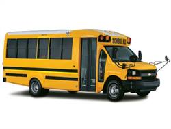 First Priority will offer sales and service for Trans Tech's Type A school buses in California and Nevada. Pictured is the Roadstar.