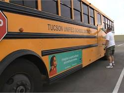 Tucson Unified School District took 11 buses out of operation because they are similar to one that caught fire earlier this month. The buses were bought from the same manufacturer at the same time.