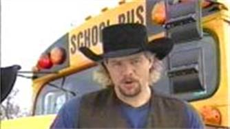 School Bus Songs: Toby Keith on School Bus Safety