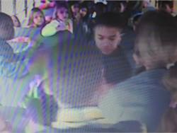 Video surveillance footage from a Clarksville-Montgomery County School System bus shows a woman and five other adults walking into the bus against the driver's objections (the driver is at right in the screenshot). The woman yells at and threatens the children.<br/><small>Screenshot from video obtained by <i>Leaf-Chronicle</i></small>