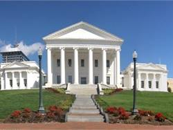 Capitol Square in downtown Richmond holds as its centerpiece the Virginia State Capitol, shown here, the seat of many major historical developments. Photo by Teresa R. Younger, via Wikimedia Commons