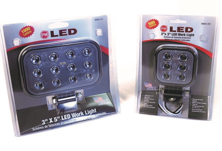 Pedestal-Mount LED Work Lights