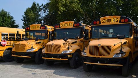 Dealers such as Wolfington Body Co. can help used school bus buyers navigate the wide variety of...