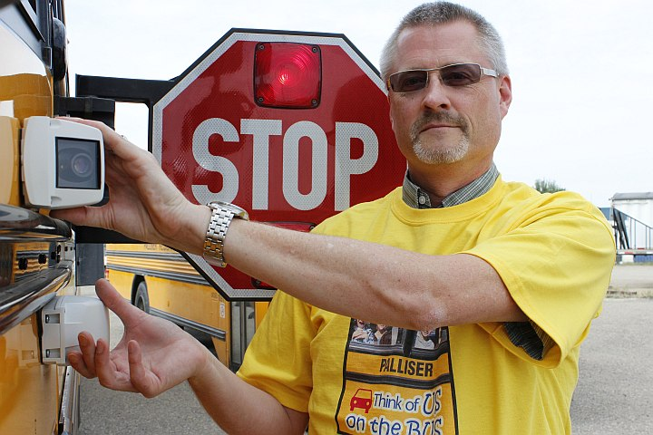 Districts Put a Dent in Bus Passing With Stop-Arm Cameras