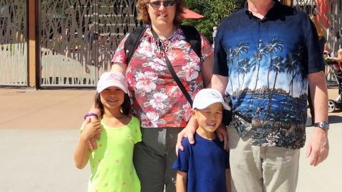 Max Christensen and his wife, Lisa, adopted two children from China: Olivia and Isaiah. They are...
