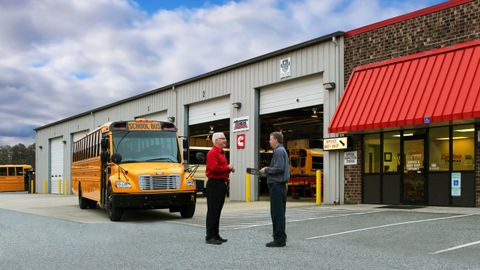 It's recommended that transportation directors check in with the dealer ahead of time on...