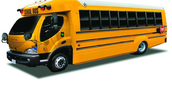 Dan Daniels, president of Trans Tech Bus, says the company's new eTrans Type A all-electric...