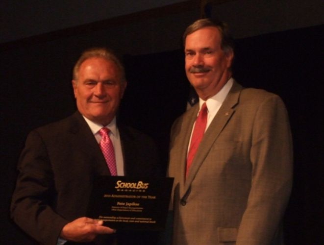 Pete Japikse Named Administrator of the Year