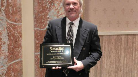 Jim Beekman Awarded for Efficiency Efforts, Keen Leadership