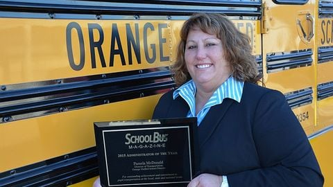 Pam McDonald, director of transportation at Orange (Calif.) USD, was recently named School Bus...