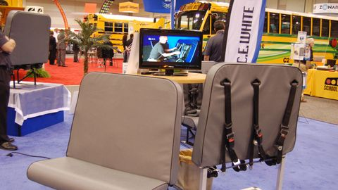 Products at the NAPT trade show
