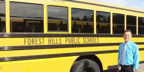 Darryl Hofstra has been Forest Hills Public Schools' supervisor of transportation since 2004, a...