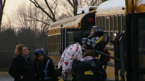 Genesee Intermediate School District's (GISD) transportation consortiums bus special-needs and...