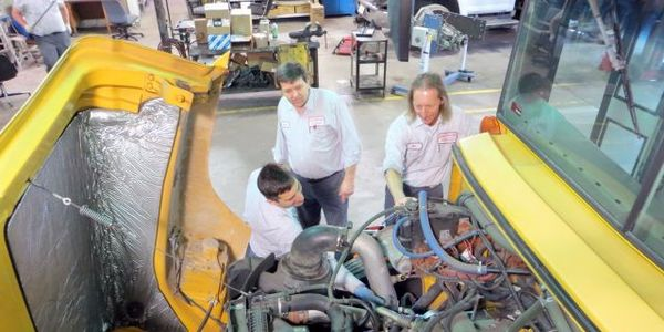 """Technicians at Parkway School District in Chesterfield, Mo., have formed a """"Shop Professional..."""