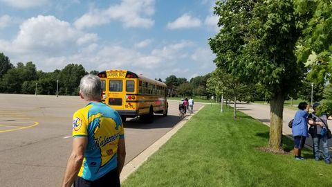 Kalamazoo (Mich.) Public Schools' transportation department held a symposium on school buses and...