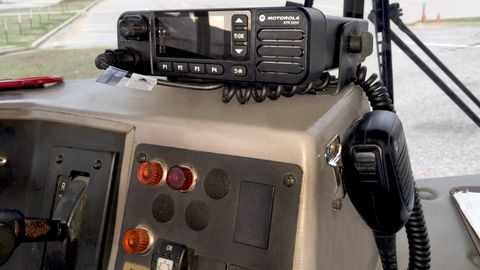 The XPR 5000 mobile radio from Motorola Solutions features a full-color display, integrated GPS,...