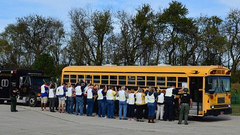 The National Association for Pupil Transportation held an interactive security exercise at its...