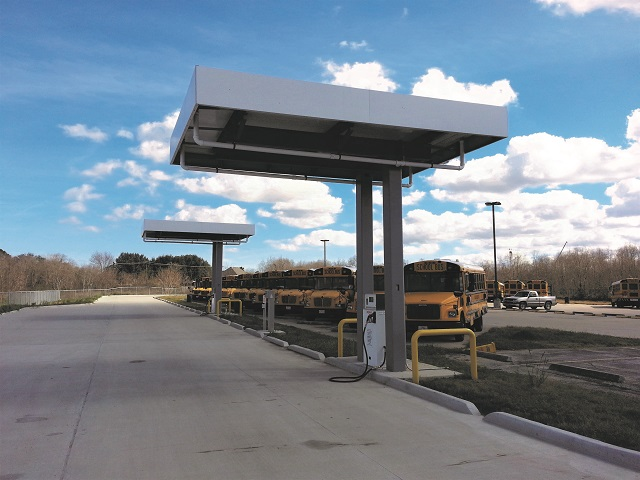 Alt-Fueling Equipment Tailored for School Bus Fleets