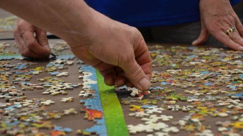 Puzzle Pieces Bring Transportation Team Together