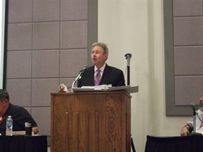 Indiana state director Pete Baxter served as the chair of the steering committee for the 2010 NCST.