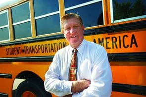 """We cannot let teachers be laid off and have education programs cut while there is real money to save here,"" says Denis Gallagher, chairman and CEO of Student Transportation Inc."