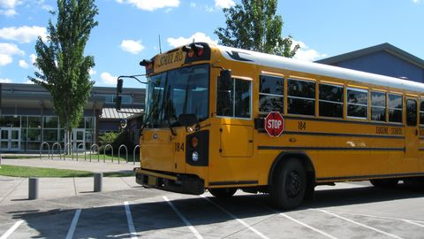 Chris Ellison, transportation manager, Eugene School District 4J, was able to accomplish his...