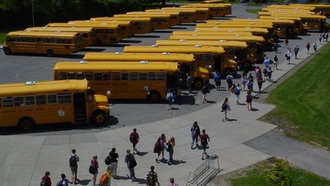 Should National School Bus Safety Week be moved to late August or early September to dovetail...
