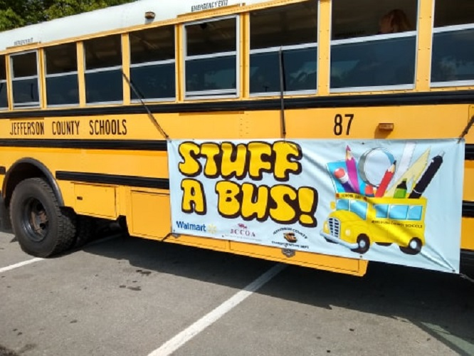 PHOTOS: Districts Host School Supply Drives for Students in Need