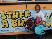 Heather Pindell, a bus driver with the district, started the event last year as an effort to...