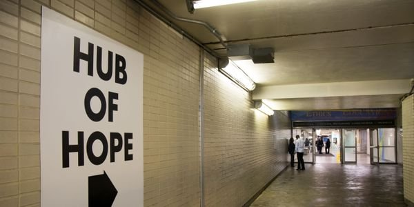 The new Hub of Hope is making a difference in the lives of those experiencing homelessness in...