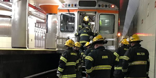 SEPTA provides awareness training that allows firefighters and paramedics to practice their...