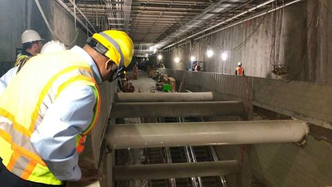 [Video] S.F. subway construction update shows progress