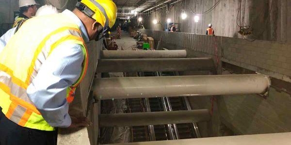 [Video] S.F. subway construction update shows progress