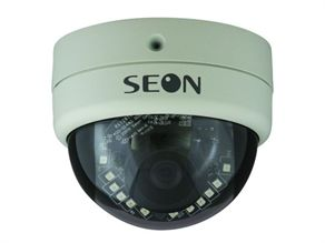 Seon Design's SQ Dome camera is among the company's updated units. The camera allows for easy adjustment of the lens to capture different parts of the bus. It also includes infrared capabilities, which allows the camera to capture images in total darkness.