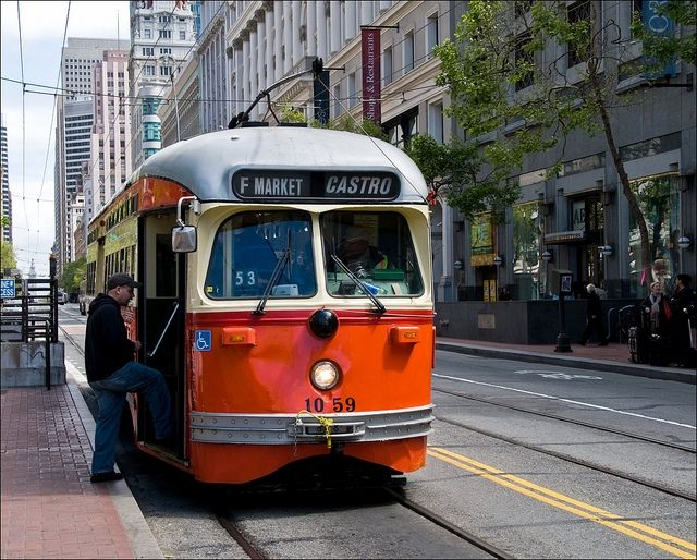 San Francisco's historic streetcar system - Tony Fischer - 2010 - Flickr