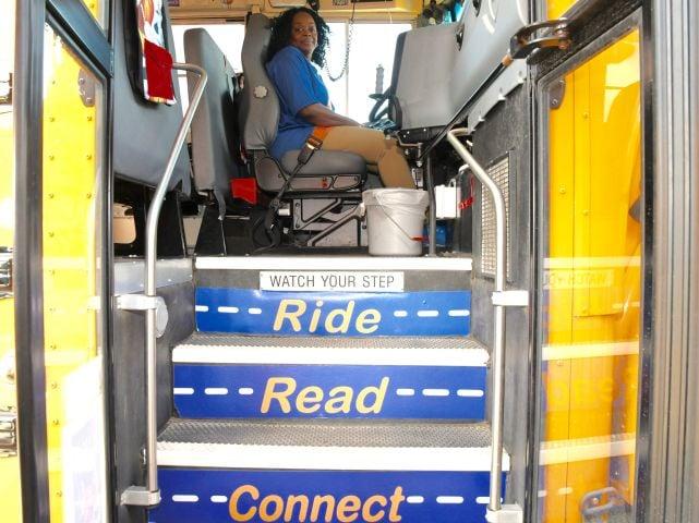 'Rolling Readers' Program Provides Digital Books for School Bus Passengers