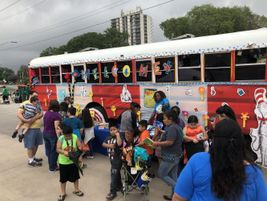 More than 1,000 students and parents visited the bus, Nathan Graf, the district's senior...