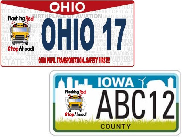 NASDPTS Makes National Push for School Bus Safety License Plates